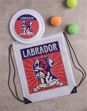 Personalised Labrador Dog Set