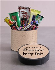 Personalised Babe Hat Box with Treats