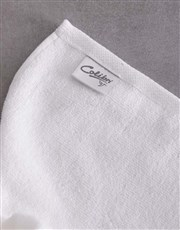 Personalised Love You White Towel Set