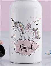 Personalised Unicorn Girls Bottle