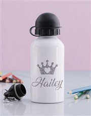 Personalised Princess Girls Bottle
