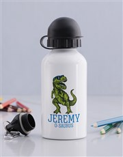 Personalised Cool Trex Boys Bottle
