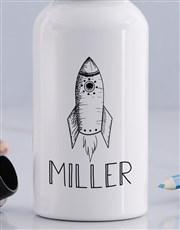 Personalised Rocket Boys Bottle