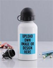 Personalised Image Upload Kids Bottle