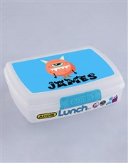 Personalised Monster Boys Lunch Box