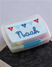 Personalised Sailor Boys Lunch Box