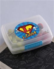 Personalised Superkids Lunch Box