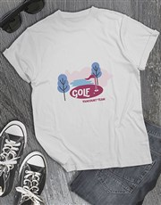 Personalised Golf Course Shirt
