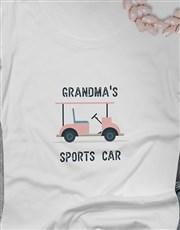 Personalised Grandma Golf Cart Shirt