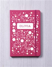 Personalised Blossom A5 Notebook