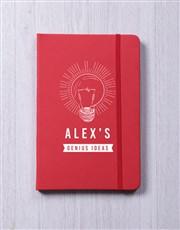 Personalised Genius A5 Notebook