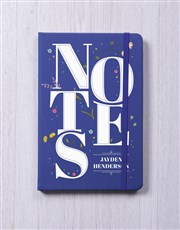 Personalised Notes A5 Notebook