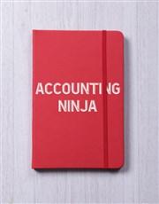 Personalised Ninja A5 Notebook