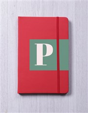 Personalised Initial Block Notebook