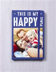 Personalised Happy Place Notebook