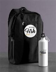 Personalised Repeat Backpack & Waterbottle