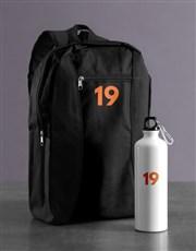 Personalised Year Backpack & Waterbottle