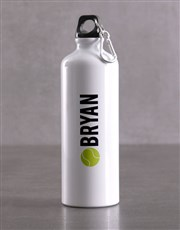 Personalised Tennis Backpack & Waterbottle