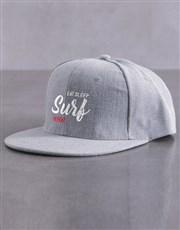 Personalised Repeat Flat Peak Cap