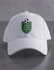 Personalised Soccer Shield Cap