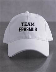 Personalised Team White Cap
