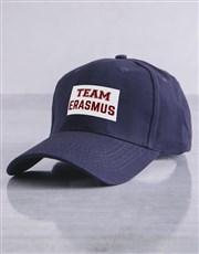 Personalised Team Navy Cap