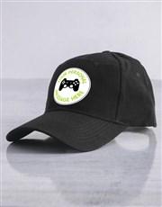 Personalised Gamer Cap