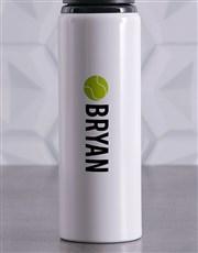 Personalised Tennis Waterbottle