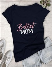Personalised Activity Mom Ladies T-Shirt