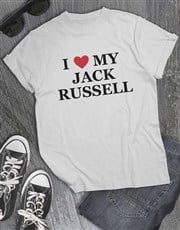Personalised I Heart My T Shirt