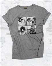 Personalised Photo Quartet Ladies T Shirt