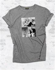 Personalised Triple Photo Ladies T Shirt