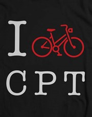 Personalised Initials Bicycle T Shirt