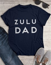 Personalised Modern Dad T Shirt