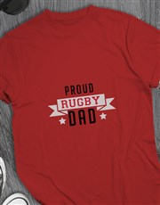 Personalised Proud Dad T Shirt