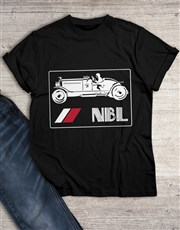 Personalised Vintage T Shirt
