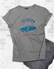 Personalised Vintage Cadillac T Shirt