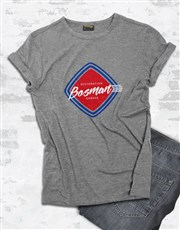 Personalised Retro Service T Shirt