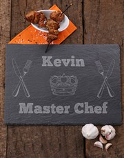 Personalised Master Chef Slate Board
