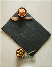 Personalised Kitchen Slate Board