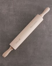 Personalised Let Us Roll Rolling Pin