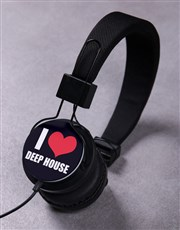 Personalised I Heart Headphones