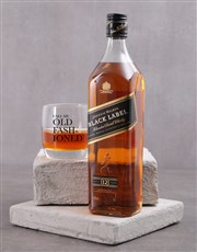 Personalised Old Fashioned Whiskey Glass