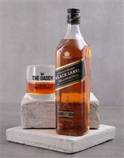 Personalised The Daddy Whiskey Glass