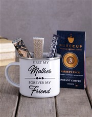 Personalised Mother And Friend Camper Mug