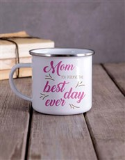 Personalised Deserve the Best Camper Mug