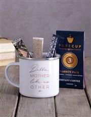 Personalised Mother Like No Other Camper Mug