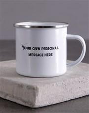 Personalised Truly Amazing Dad Camper Mug