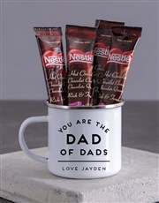 Personalised Dad of Dads Camper Mug