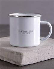 Personalised Dad Camper Mug